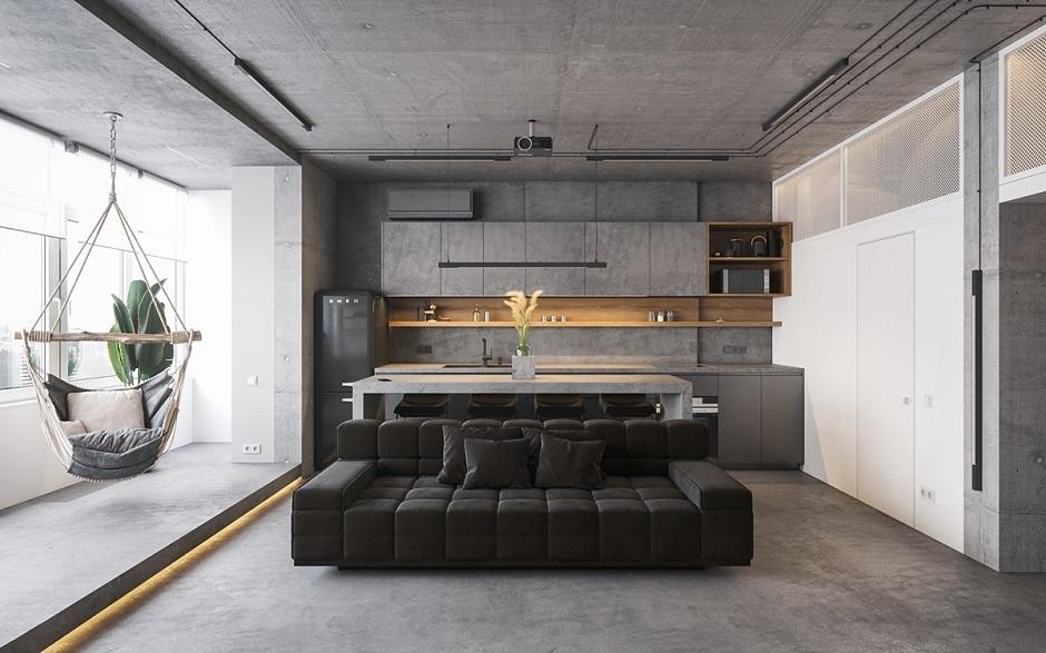 Salt and Pepper Granite Interior Design 2